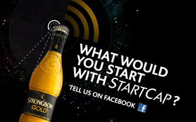 The Strongbow Gold StartCap
