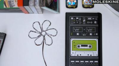 Audio Cassette Notebooks
