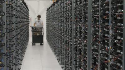 Take a walk through a Google data center