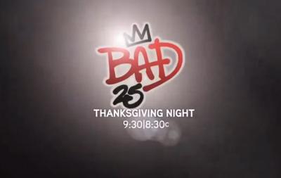 Michael Jackson Bad 25 Trailer Preview