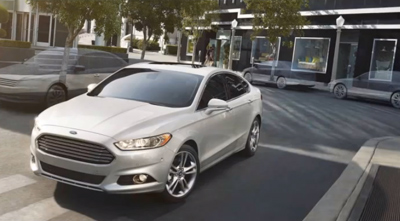 Renowned artist sets the scene for the all-new Ford Fusion