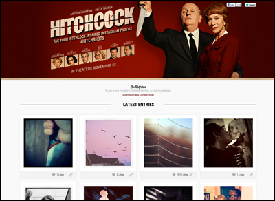 #Hitchshots: Photos Inspired By Alfred Hitchcock
