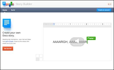 Google Story Builder