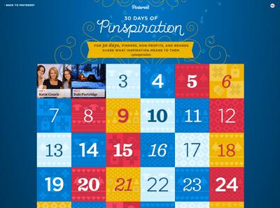 30 Days of Pinspiration