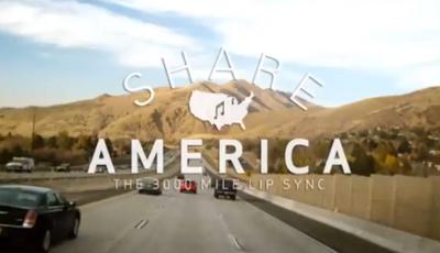 Share America: The 3000 Mile Lip Dub