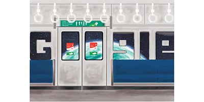 Google Doodle 4 Google 2012 グランプリ作品「Next Our Home」