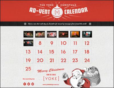 The Yoke Christmas Ad-vent Calendar