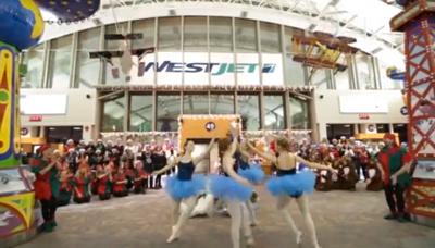 WestJet Surprise Christmas Flash Mob