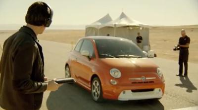 FIAT 500e Test Track