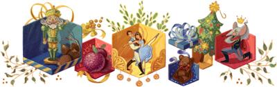 Google バレエのくるみ割り人形初演から120周年