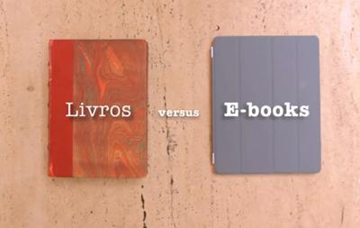 Livros versus E-books