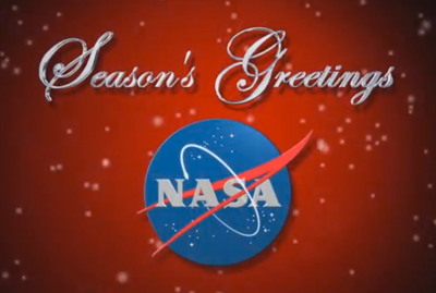 Happy Holidays, NASA TV Style!