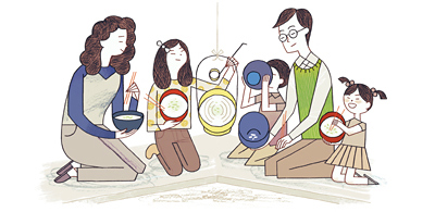 Google 人日の節句の朝に食べる七草粥