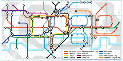 Google ロンドン地下鉄150周年「150th Anniversary of London Underground」