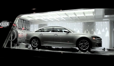 Audi Holiday Installation