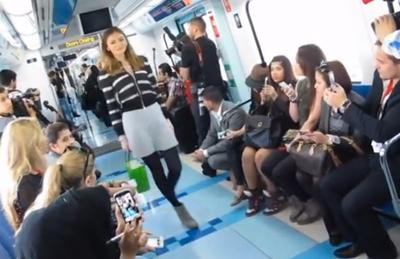 Dubai's Metro Fashion Show 2013