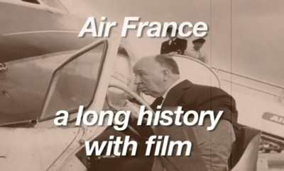 Air France, a long history with film