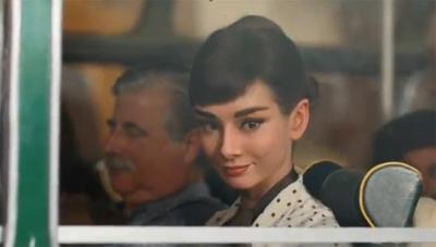 Galaxy Chocolate Audrey Hepburn