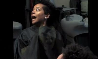Beauty Shop Scare