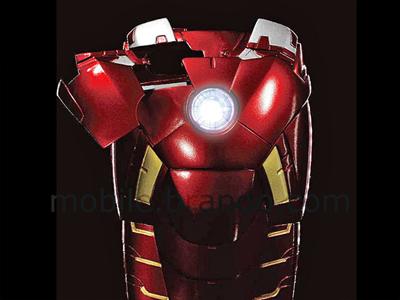 iPhone 5 MARVEL Iron Man Mark VII Protective Case with LED Light