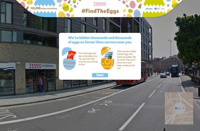 Tesco - #FindTheEggs