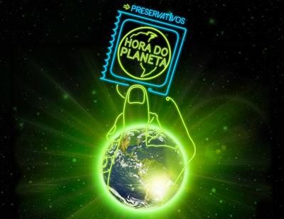 Preservativos Earth Hour