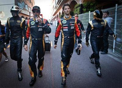 Lotus F1 x Daft Punk