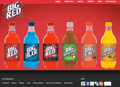 Big Red BBQ Bottle