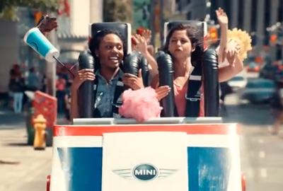 MINI Roller Coaster. A ride this thrilling is NOT NORMAL.