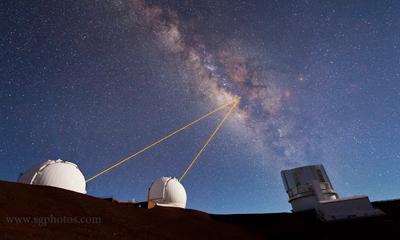 Mauna Kea Heavens Timelapse
