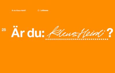 Klaus-Heidi « Lufthansa