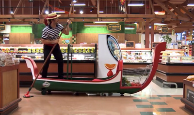 Grocery Cart Gondola