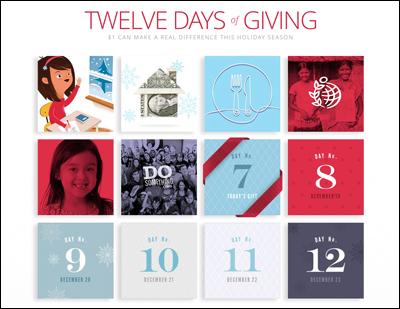 Twelve Days of Giving