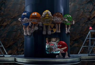 M&M'S Trailer