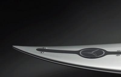 Mercedes-Benz TV: The Mercedes-Benz Surfboard for Garrett McNamara