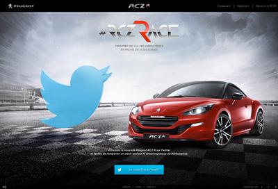 #RCZRace : Nouvelle Peugeot RCZ R