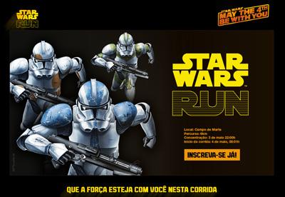 Star Wars Run' stunt