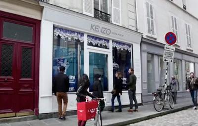 KENZO 'No Fish No Nothing' Digital Pop-Up