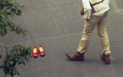 恋する赤い靴