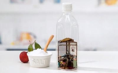 タイの台所がペットボトルの中に!小さなキッチンのムービー「SALT & LITCHI Story - 世界のKitchenから」