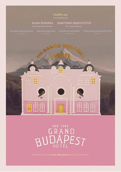 The Tiny Grand Budapest Hotel