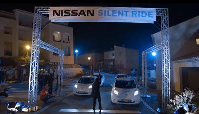 Nissan LEAF 100% Electric - Silent Ride