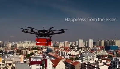 #CokeDrones by Coca-Cola Singapore & Singapore Kindness Movement
