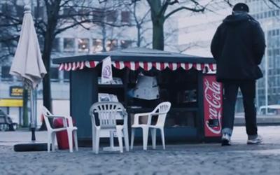 The Coca-Cola Mini Kiosk