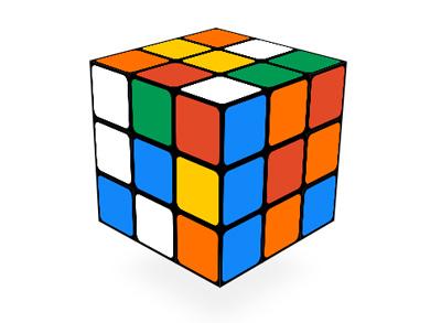 Google ルービックキューブ誕生から40周年、ルービックキューブで遊べるロゴに!