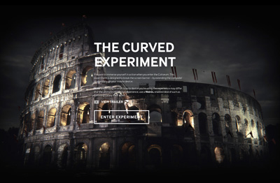 Samsung - The Curved Experiment