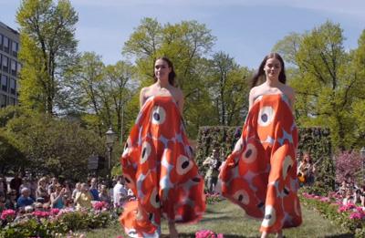 Fashion Show at the Esplanade park 23 May 2014