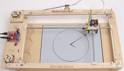 WaterColorBot Water Clock