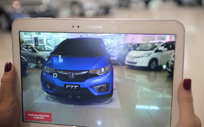 Case Carro Invisivel Honda Fit
