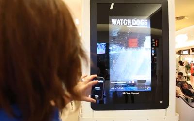 Ubisoft hacks PlayStation Digital DOOH campaign